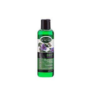 Geranium shampoo for hair prone to oiliness x200ml